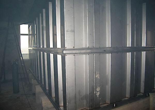瓦菱形水箱